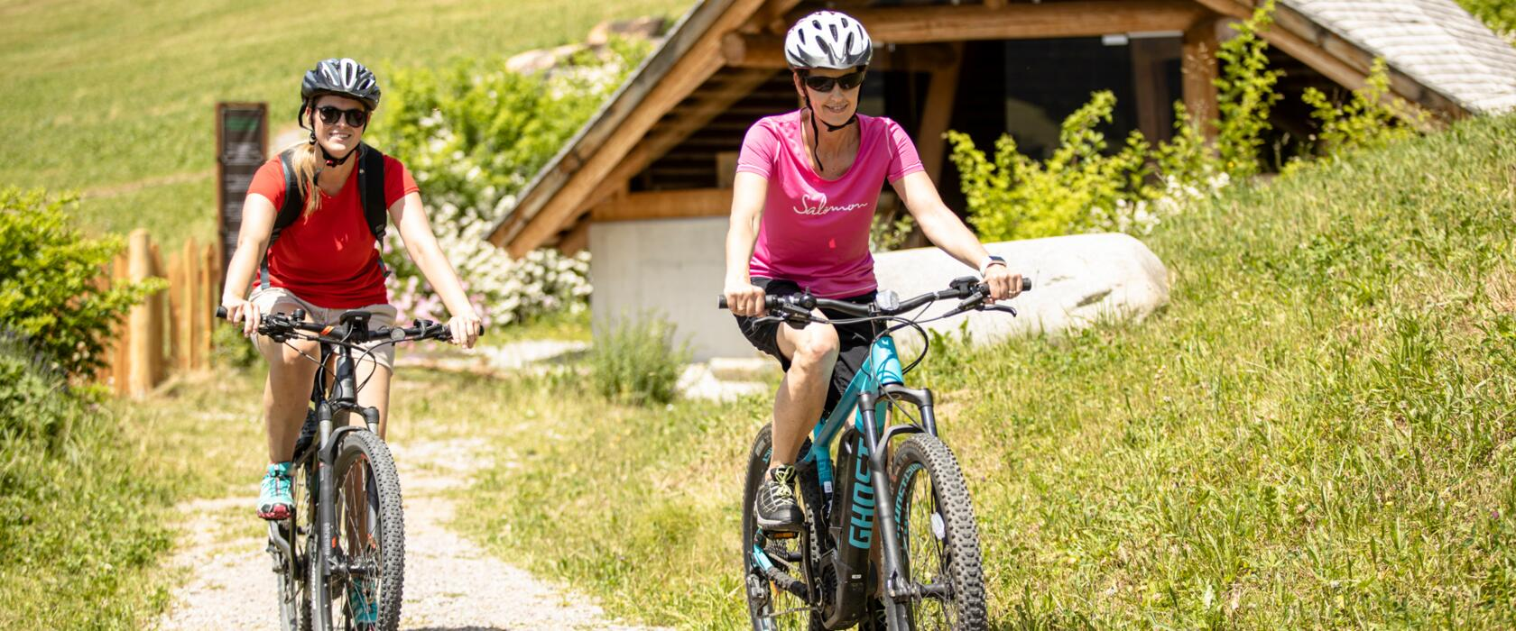 mountain biking in active holiday tyrol