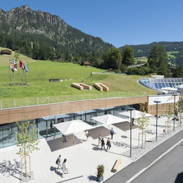 © congress center mitten in alpbach
